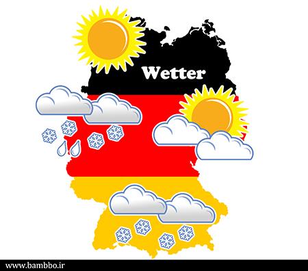 انواع آب و هوا به آلمانی | بامبو دات آی آر