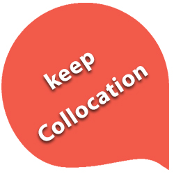 keep collocations