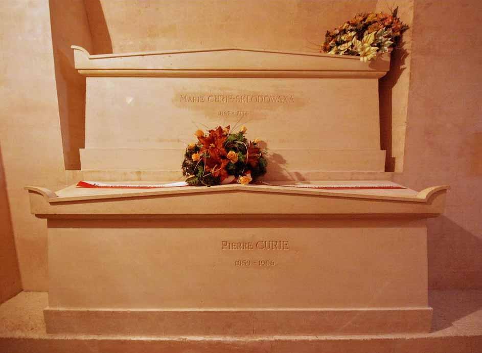 محل دفن ماری کوری-بیوگرافی ماری کوری-بامبو
