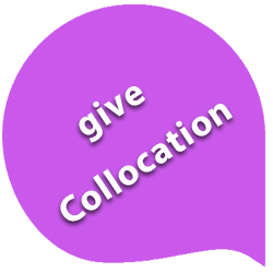 give collocations