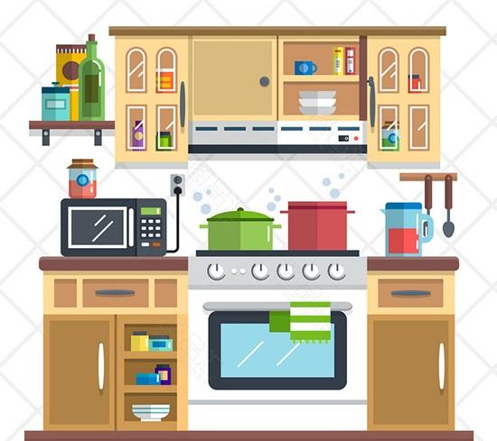 وسایل و لوازم آشپزخانه به انگلیسی| بامبو دات آی آر