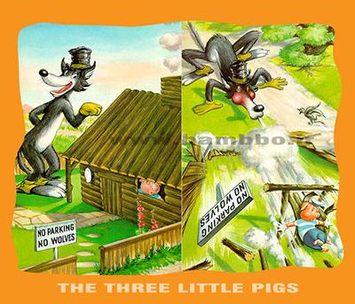 شعر و داستان انگلیسی|داستان سه بچه خوک|بامبو