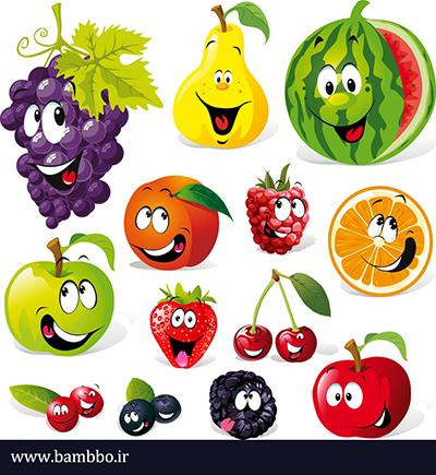 میوه ها به زبان آلمانی| بامبو