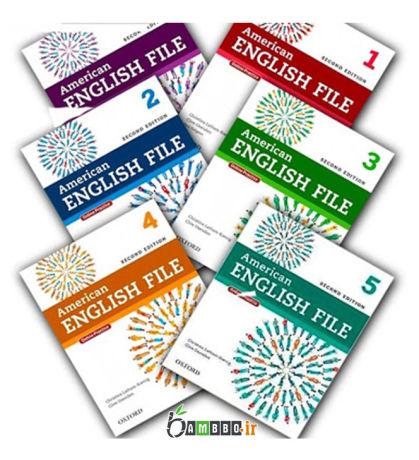 آموزش کتاب های امریکن انگلیش فایل